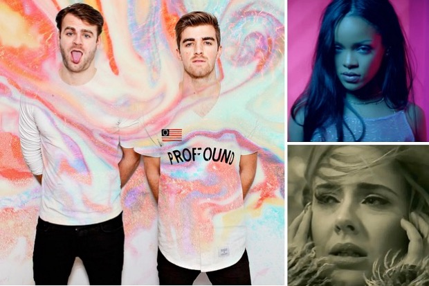 the-chainsmokers-2016-rihanna-adele-chart-charts-closer