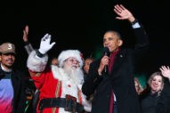 This Is The Last Time Anyone Enjoyable Will Be At The White House Christmas Tree Lighting For A Long Time