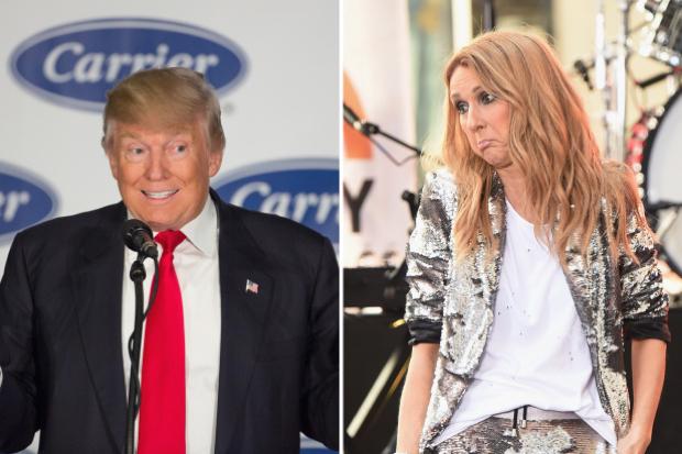 donald-trump-ugly-president-celine-dion