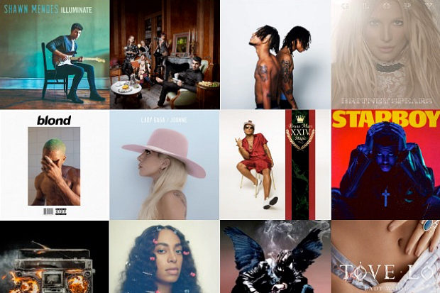idolator-poll-2016-best-albums-solange-britney-lady-gaga-shawn-mendes-frank-ocean-jojo-little-mix-the-weeknd-bruno-mars