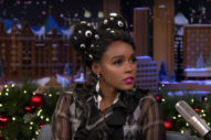 Janelle Monáe Talks About Getting Fired From Office Depot On 'Fallon': Watch