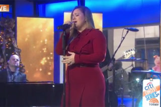 Watch Kelly Clarkson Tear Up During Her 'Hamilton Mixtape' Performance On 'TODAY'