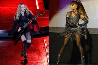 """Madonna Dances With Ariana Grande To """"Music"""" At Malawi Fundraiser: Watch"""