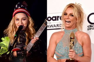 """Madonna Covers Britney Spears' """"Toxic"""" To Images Of Donald Trump: Watch"""
