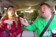 Watch Mariah Carey, Adele, Lady Gaga And More Belt 'All I Want for Christmas Is You' During Carpool Karaoke