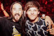"Louis Tomlinson Teams With Steve Aoki For ""Just Hold On"": Hear A Snippet"