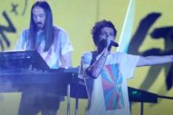 "Louis Tomlinson & Steve Aoki Debut ""Just Hold On"" On 'The X Factor UK': Watch"
