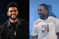"The Weeknd Brings Out Kendrick Lamar To Perform ""Sidewalks"": Watch"