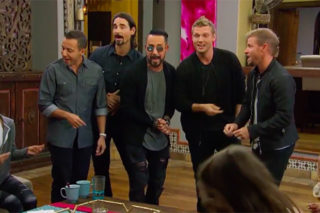 Watch Backstreet Boys Take Over 'The Bachelor'