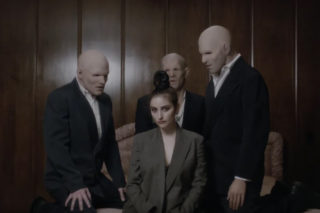 "Watch BANKS' Unsettling ""Trainwreck"" Video"