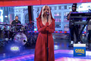 """Bebe Rexha Performs """"I Got You"""" & """"In The Name Of Love"""" On 'GMA': Watch"""