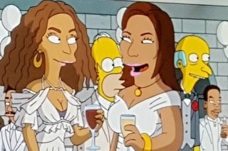 Beyonce Appears On Hip-Hop-Themed 'Simpsons' Episode