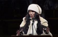Watch Cher Speak At Anti-Trump Rally