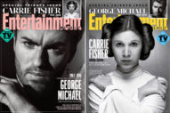 George Michael, Carrie Fisher Cover 'Entertainment Weekly' Tribute Issue