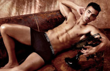 Joe Jonas Strips For Guess Underwear Campaign