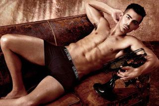 Joe Jonas Strips For Guess Underwear Campaign: 12 Bulge-Tastic Pics
