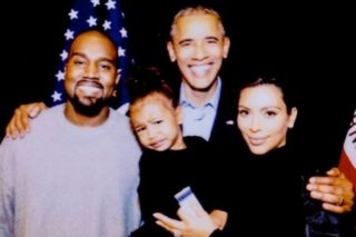 North West Cries In Front Of Barack Obama In Kim Kardashian's Throwback Pic