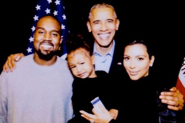 kanye-west-kim-kardashian-barack-obama-north-west-crying