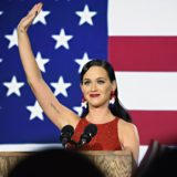 Katy Marches With Women