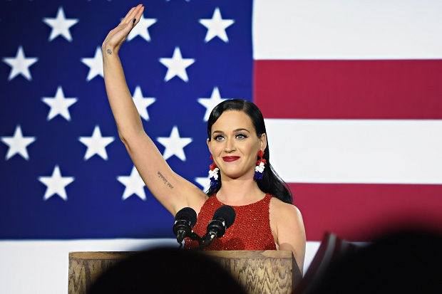 Katy Perry Election Night