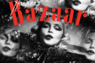 Madonna Strikes A Pose For 150th Anniversary Issue Of 'Harper's Bazaar'