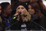 "Madonna Clarifies Women's March Speech: ""I Am Not A Violent Person"""