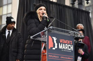 """Madonna Banned By Texas Radio Station HITS 105 For """"Un-American"""" Women's March Speech"""