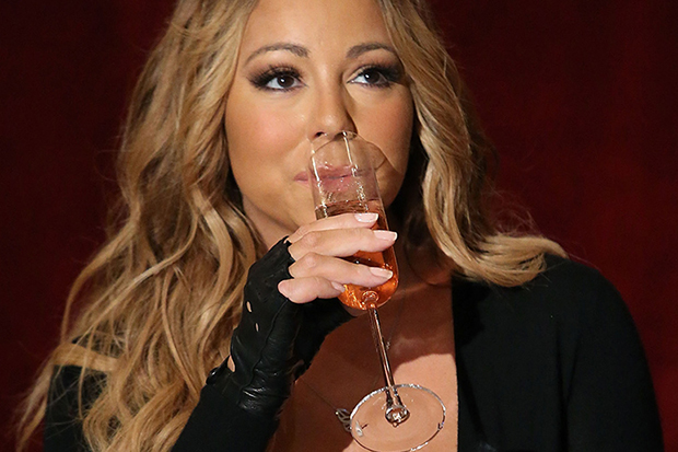 Mariah Carey Announces The Launch Of Her Go N'Syde Bottle