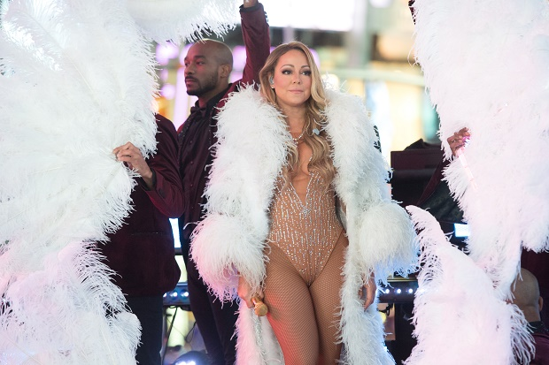 Mariah Carey Times Square