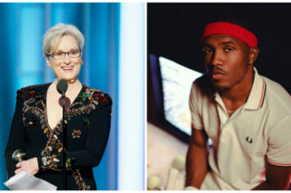 Frank Ocean Is A Fan Of Meryl Streep's Golden Globes Speech