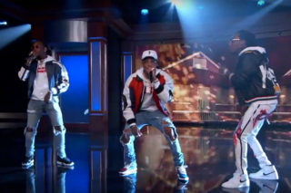 """Migos Perform """"Bad And Boujee"""" On 'Jimmy Kimmel Live': Watch"""