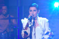 "She's Back! Nelly Furtado Performs ""Cold Hard Truth"" On 'Seth Meyers'"