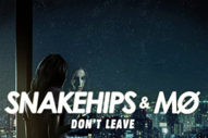 "MØ Lends Her Voice To Snakehips' New Single ""Don't Leave"""