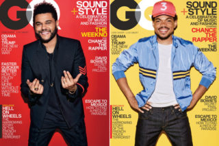 The Weeknd & Chance The Rapper Share Dual 'GQ' February Covers, Chance Talks Trump