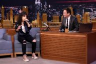 Alessia Cara Impersonates Ariana Grande, Nicki Minaj & Lorde On 'The Tonight Show': Watch