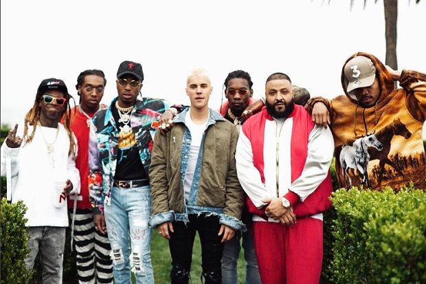 dj-khaled-justin-bieber-lil-wayne-chance-the-rapper-migos