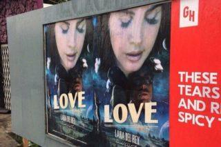 Lana Del Rey Movie Posters Pop Up In LA