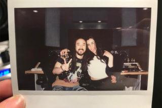 Club Queen? Lauren Jauregui Hits The Studio With Steve Aoki