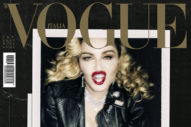 Madonna Exposes Her Nipples On The Cover Of 'Vogue Italia': 4 Pics