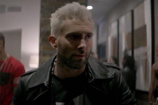 """Adam Levine's Drink Is Spiked With Acid In Maroon 5 """"Cold"""" Video"""