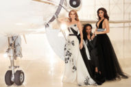 Celine Dion & Zendaya Pose With Their Stylist In 'Hollywood Reporter'