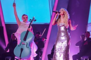 "Clean Bandit & Zara Larsson Perform ""Symphony"" On 'The Voice UK': Watch"