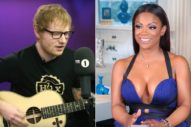 "Ed Sheeran's ""Shape Of You"" Credits Feature Kandi Burruss & Tiny Harris"