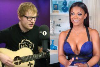 "Ed Sheeran's ""Shape Of You"" Credits Feature Kandi Burruss & Tiny Harris"