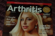 "Lady Gaga Covers 'Arthritis' Magazine: ""Hip Pain Can't Stop Me"""
