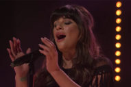 "Vocals! Lea Michele Performs ""Love Is Alive"" On 'The Late Late Show'"