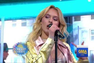 "Zara Larsson & Ty Dolla $ign Perform ""So Good"" On 'Good Morning America': Watch"