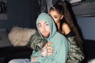 "Ariana Grande Kisses Mac Miller While Performing ""The Way"" Live: Watch"
