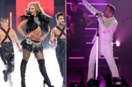 Britney Spears Made A Backstreet Boy Crawl On All Fours During Vegas Show: Watch