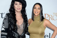 Cher Joined Kim Kardashian On The Red Carpet At 'The Promise' Premiere